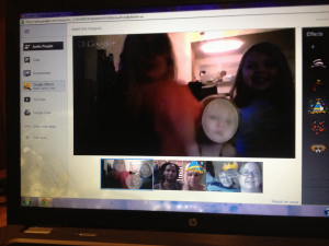 All of Staci's closest friends and family were at her 25th (virtual) birthday party.