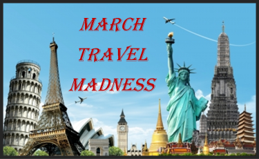 top travel destinations - March Travel Madness