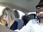 Road trip nap time