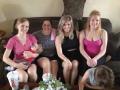 Staci & her cousins.