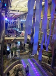 This is the inside of the Royal Caribbean cruise we took from Florida to Barcelona, Spain.